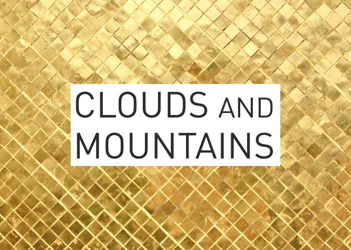 Local Gold: Clouds and Mountains